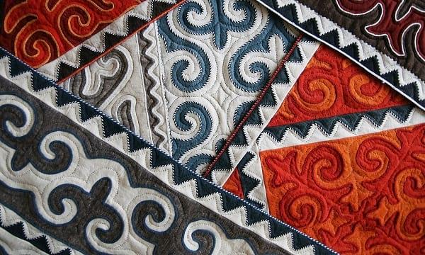 Обработка войлочных и иглопробивных ковров